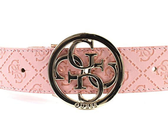 1ae817c2c8d GUESS Rayna Adjustable Belt W95 - kürzbar - Rose - Large  Amazon.fr   Chaussures et Sacs