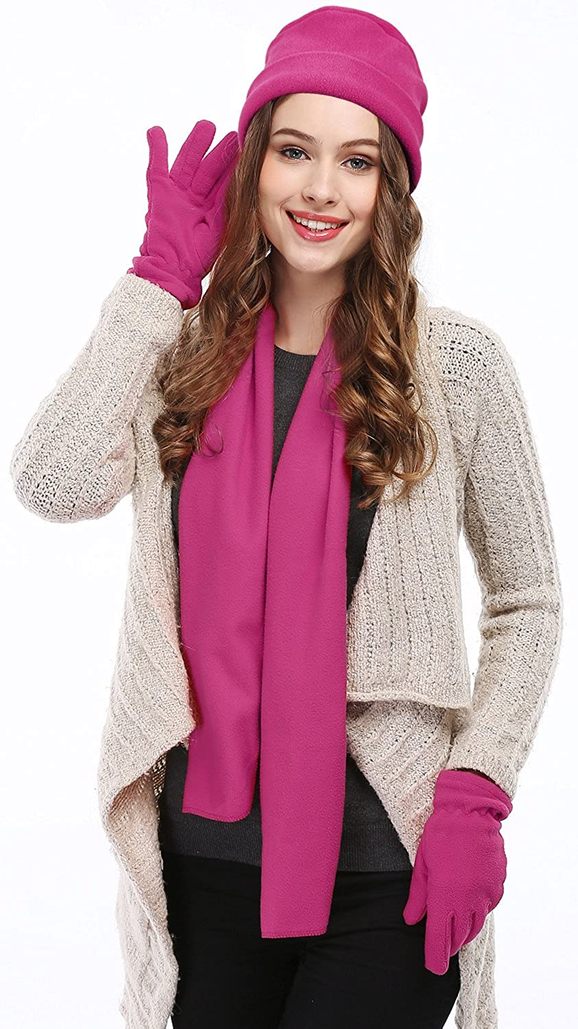 Womens Winter Hat Scarf And Glove Sets Canada