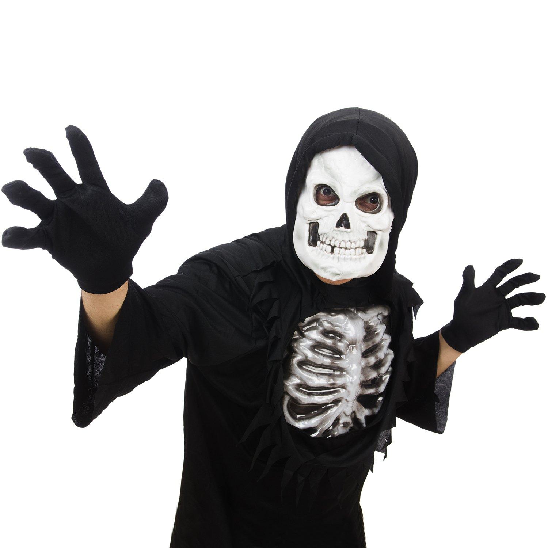 Petit 3 Paires Squelette Gant de Halloween Costumes Gant