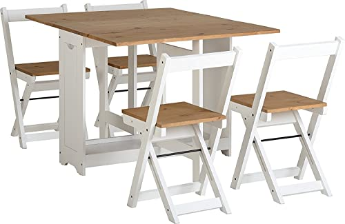 Etonnant Greenheart Furniture (UK And Ireland) Butterfly Dining Set With 4 Folding  Chairs