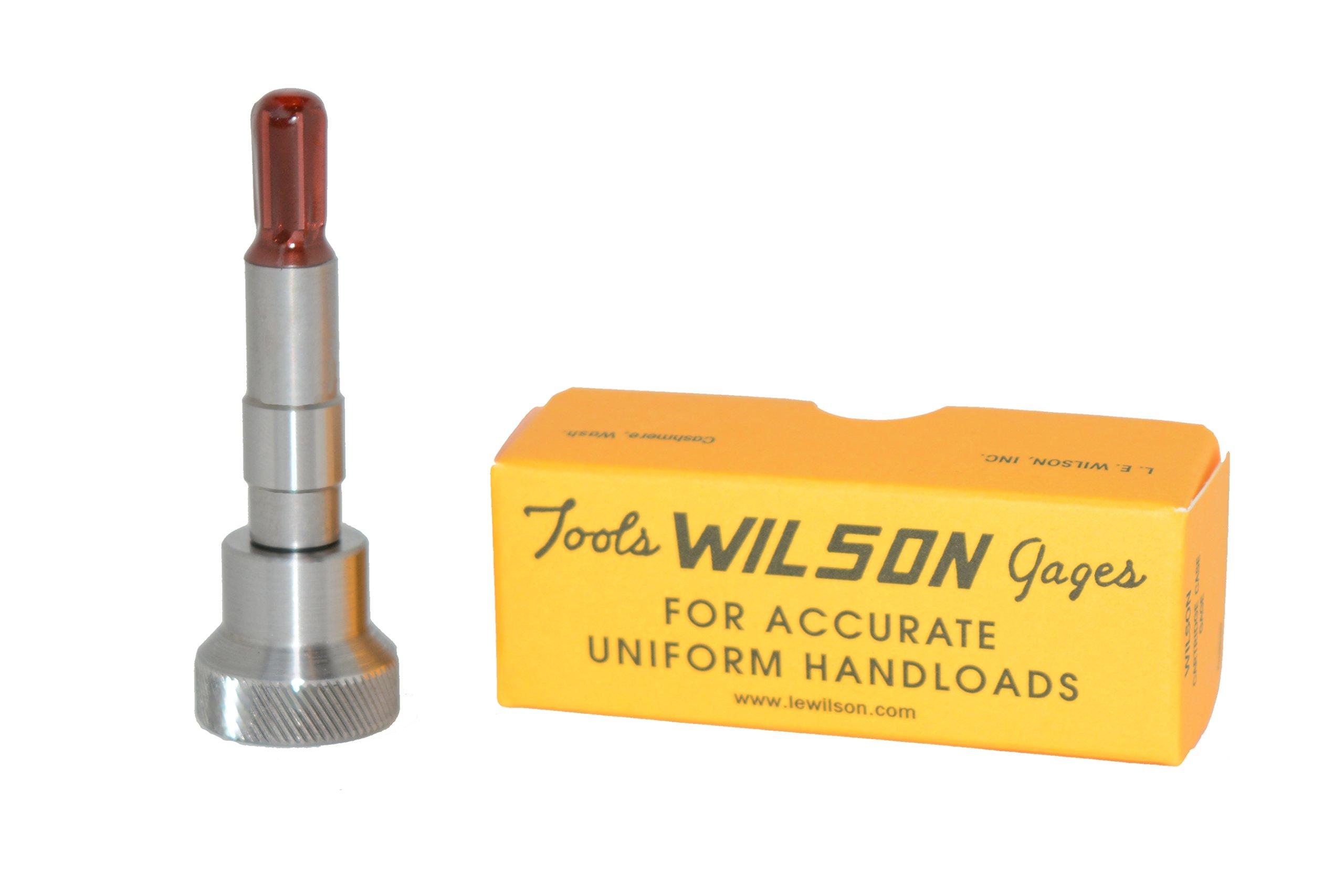 L.E. Wilson INR-220 Inside Neck Reamer for Trimmer 22 Caliber with Finish Diameter 0.2265''-0.227'', Hardened Ground Steel