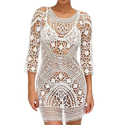 Amazon Crochet Swimsuit Cover Upclearance Agrintol Sexy Beach