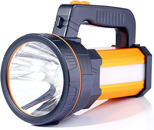 ALFLASH Linterna de antorcha LED recargable de alta potencia 7000 ...