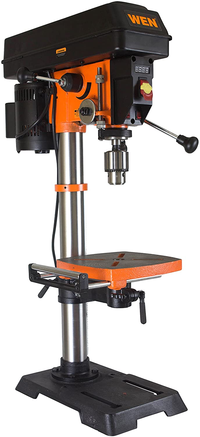 Best Woodworking Drill Press: TruePower Gino Development 01-0822 0-8500 rpm