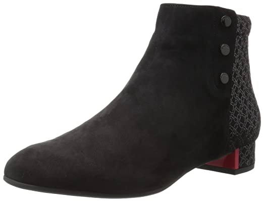 Women's Lida Ankle Boot Black Chain Print Combination 420 Medium EU (11 US)