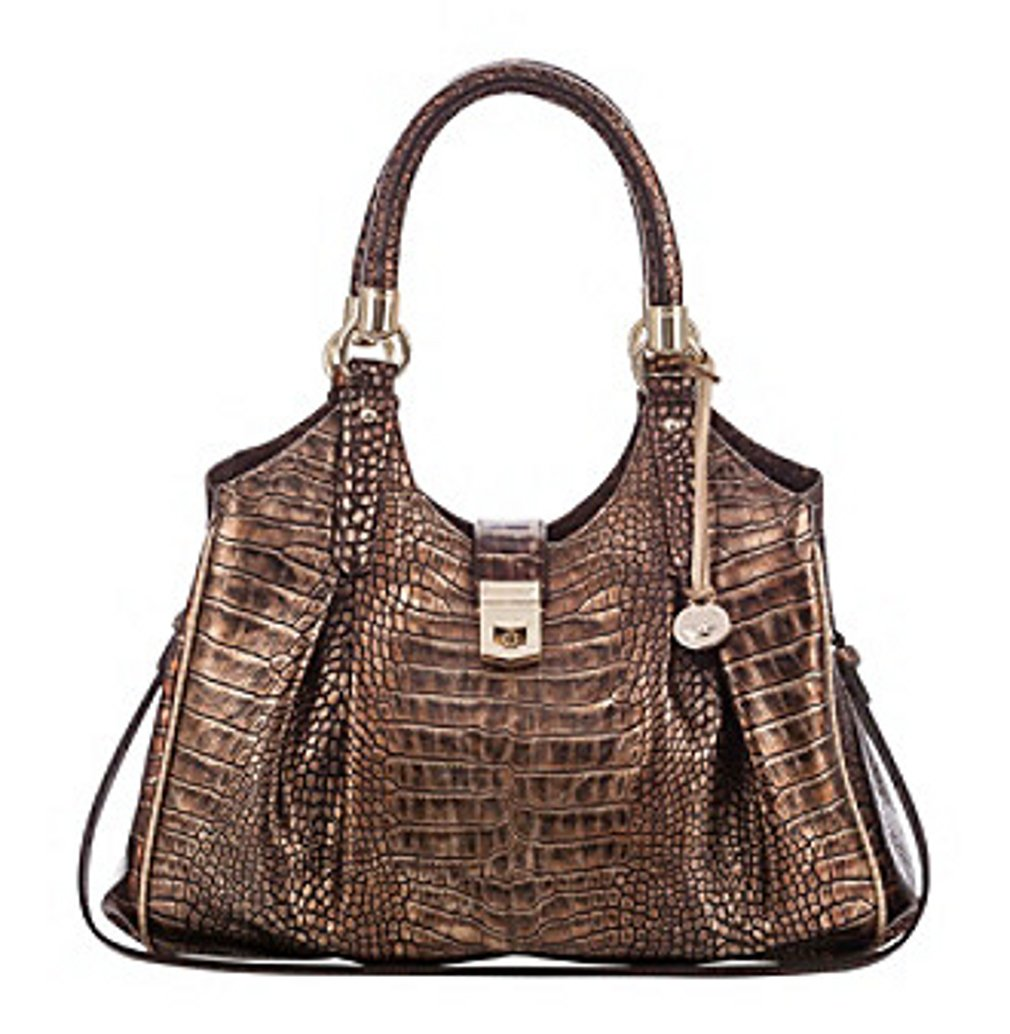 Brahmin Elisa Brown Medium Hobo