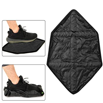 FMTMY 6PCS/3Pair Hands Free Shoe Covers, Step in Sock Shoes Cover ...