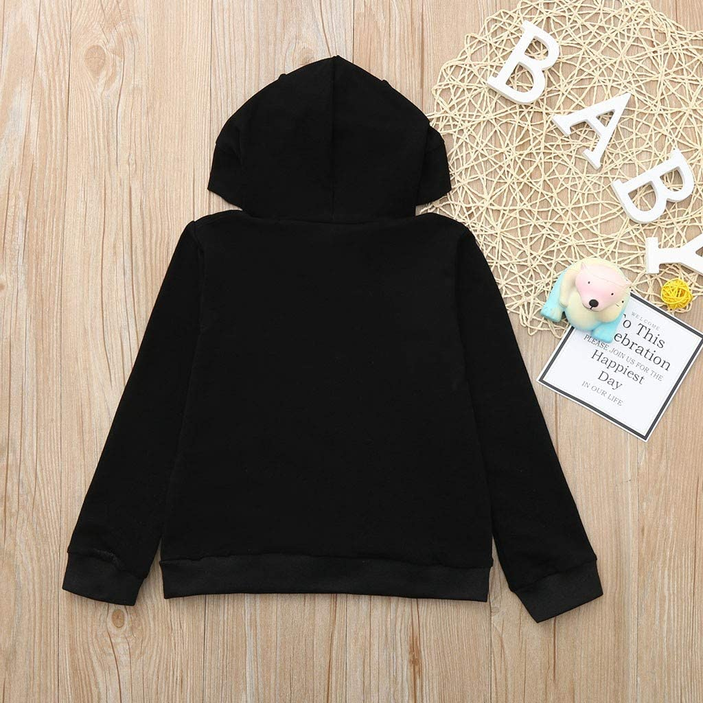 Rikay Kids Hoodies,Sweatshirts for Boys Girls with Long Sleeve,Hood and Print,Unisex Hoodies Jumper,Gifts for Children