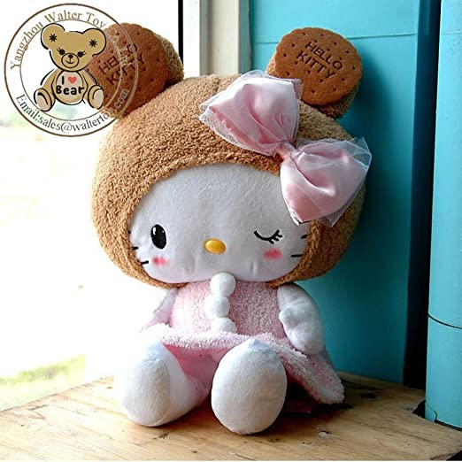 Amazon.com: High Quality HELLO KITTY 50cm Biscuit Kitty Plush Toy & Stuffed Doll, Toys & Hobbies, Dolls & Stuffed Toys For Birthday Gift: Baby