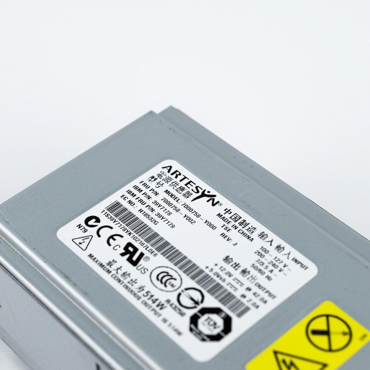 x226 514W Hot-Swap Power Supply