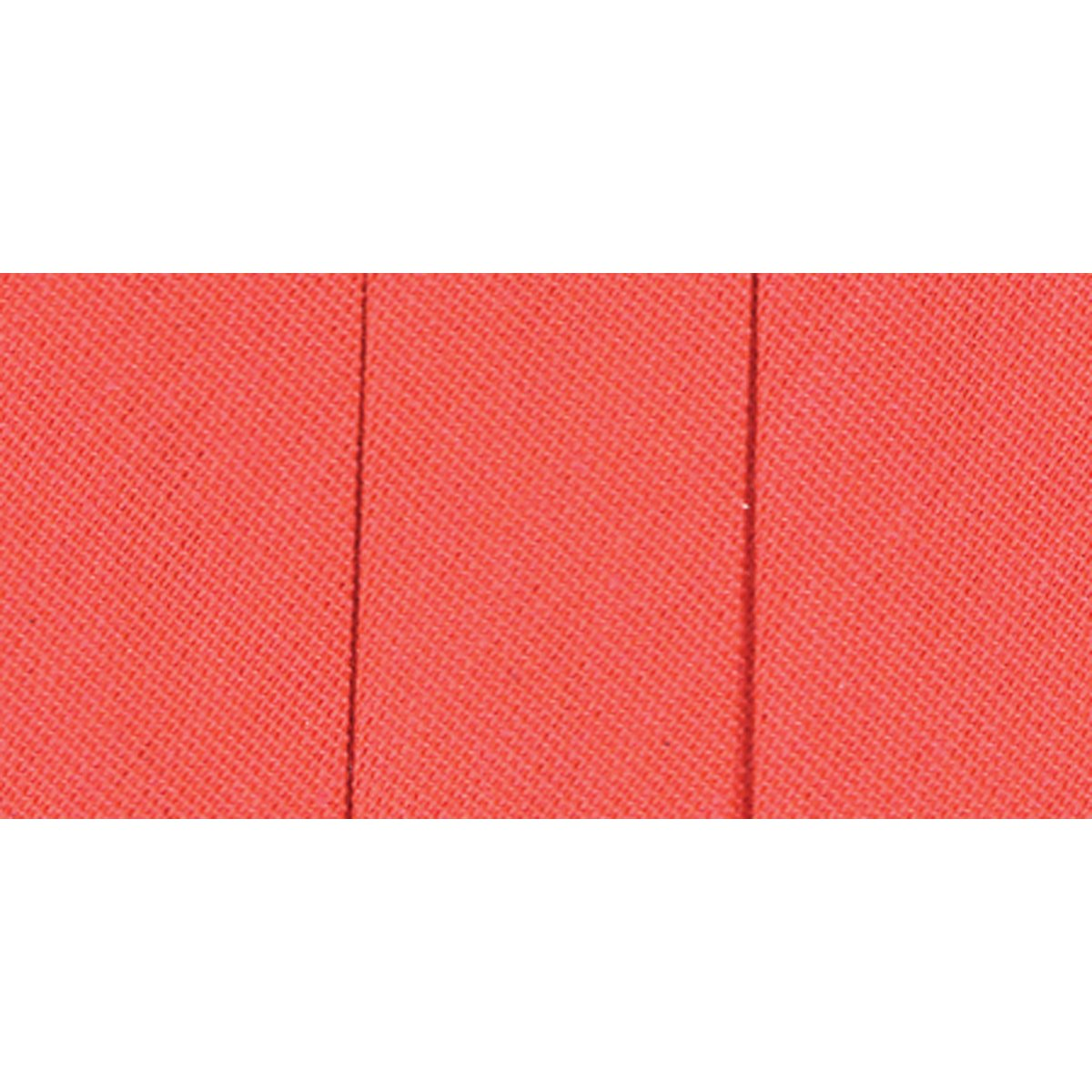 Wrights 117-206-025 Extra Wide Double Fold Bias Tape, Neon Red, 3-Yard by Wright Products