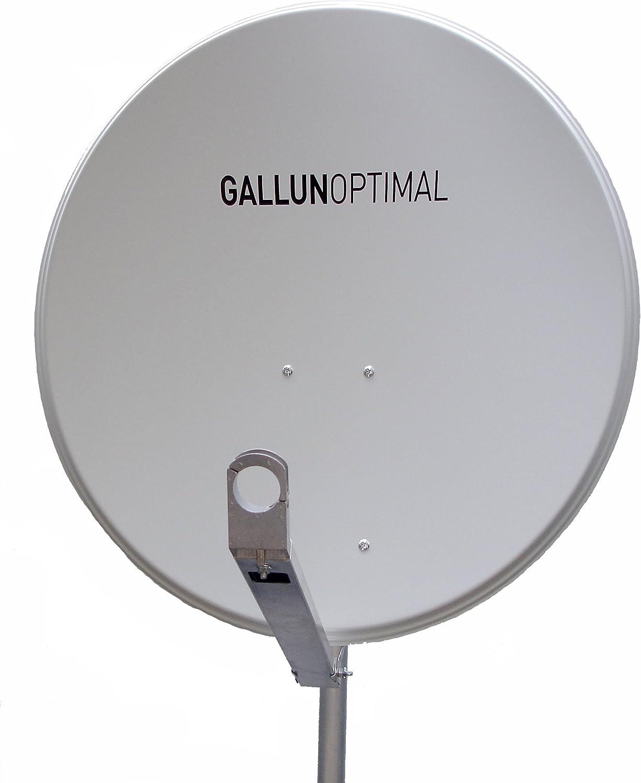 GALLUN 80 cm Profi-Type ALU antena parabólica gris claro