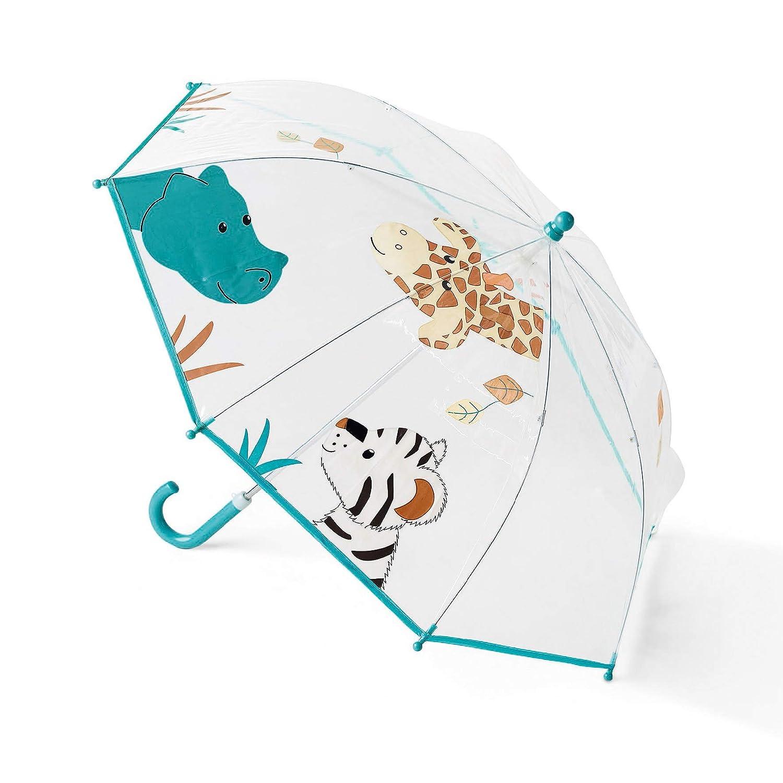 Cuddly Zoo Age: Children from 3 years Sterntaler Umbrella White//Multicoloured
