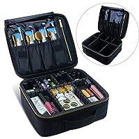 Deals on Travel Makeup Bag Makeup Case Cosmetic Bag