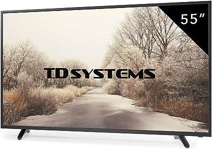 TD Systems - Televisores Led 55 Pulgadas Full HD K55DLT6F (Resolución 1920x1080/HDMI 3/VGA 1/USB Reproductor y Grabador) TV Led (Reacondicionado Certificado): Amazon.es: Electrónica