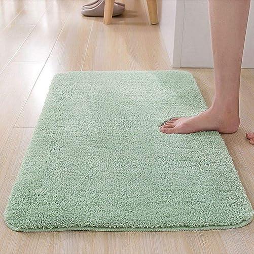 Teruixing Home Doormat Dirt Trapper Living Room Rugs Bedroom Kitchen Absorbent Non-Slip Bath Cushion Mats 31 x 47 ,Green