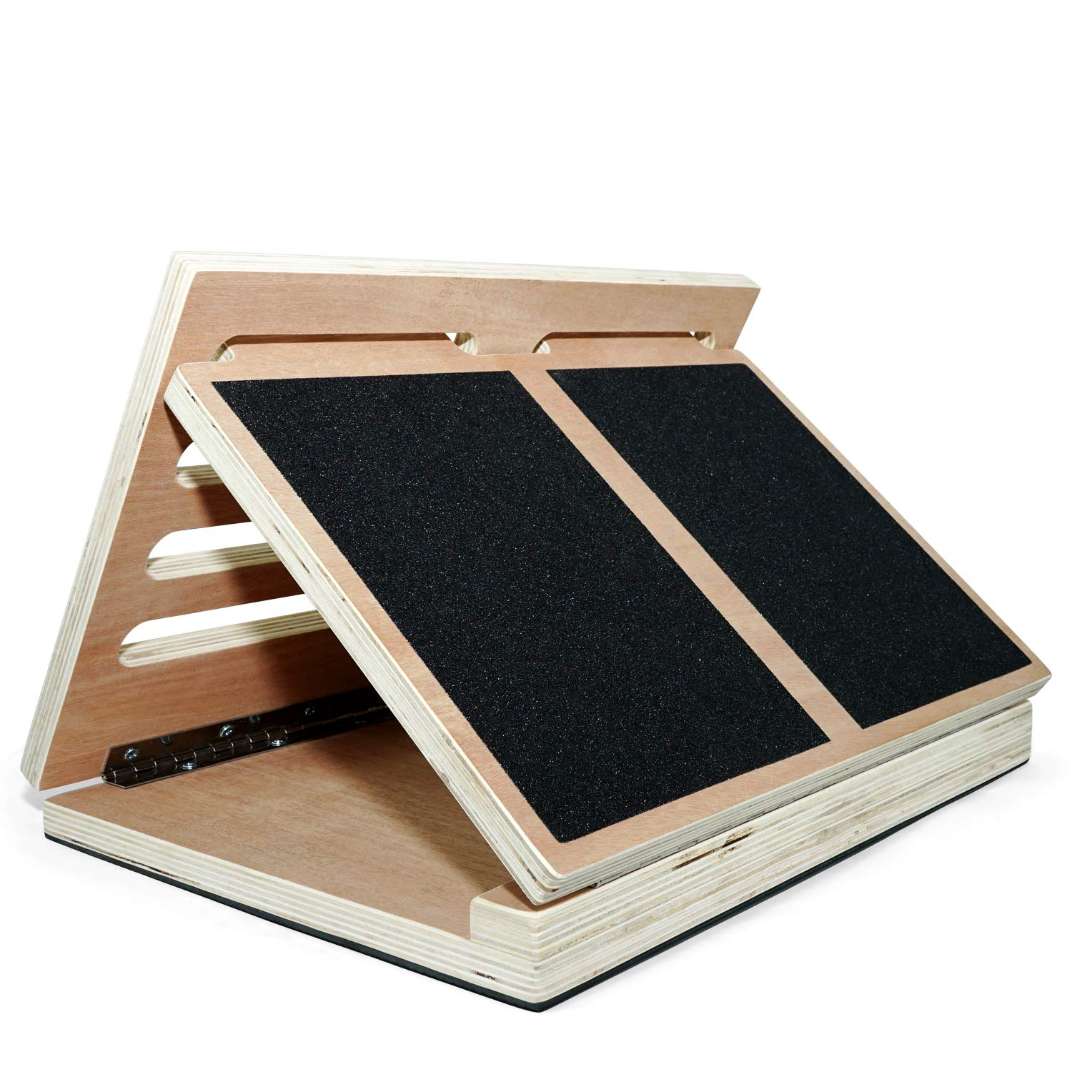 Yes4All Adjustable Wooden Slant Board – Incline Level 10, 20, 30, 35 40 Degree – Support up to 450 lbs