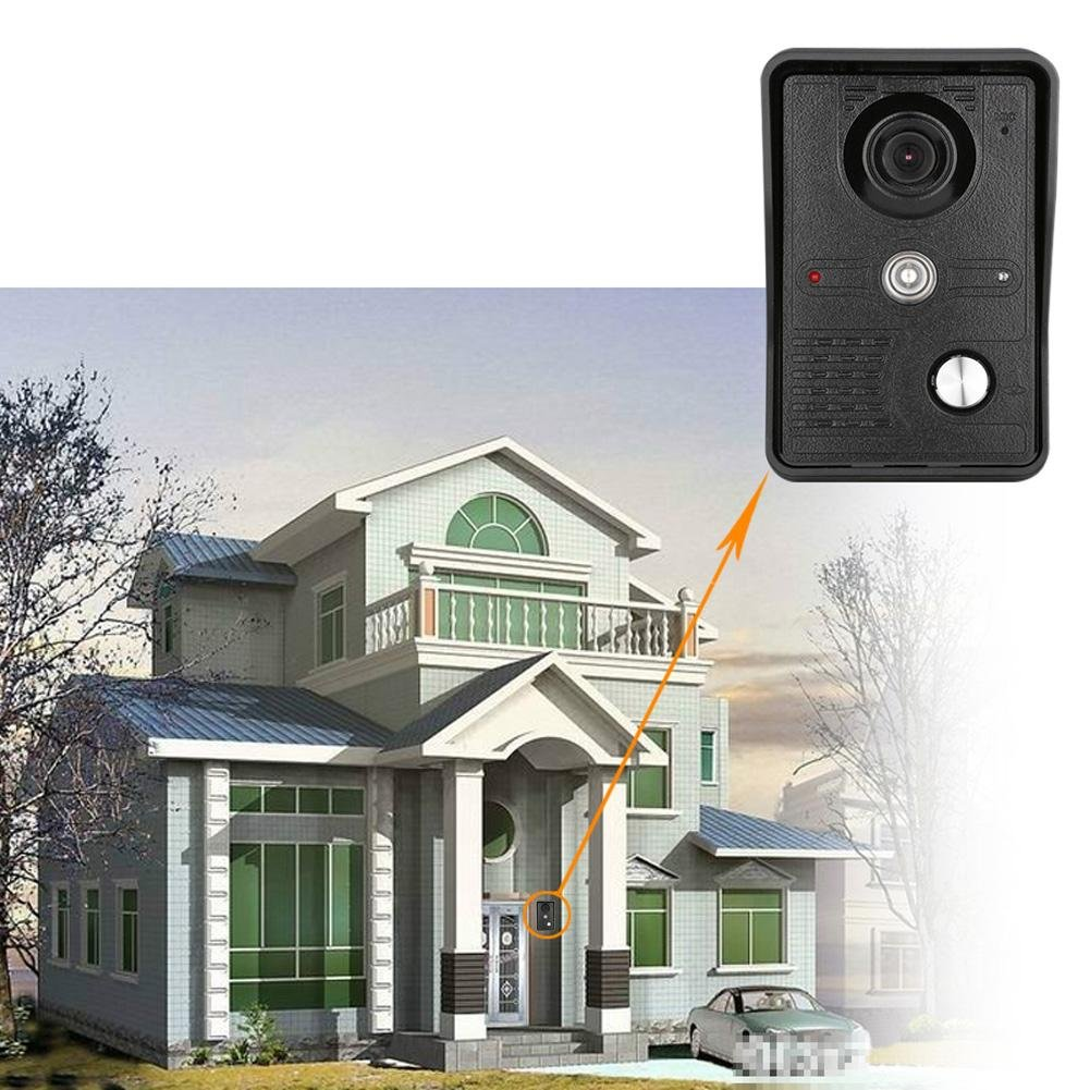 Awakingdemi 7 Inch Video Door Phone Doorbell Intercom 1-camera 1-monitor Night Vision by Awakingdemi (Image #3)