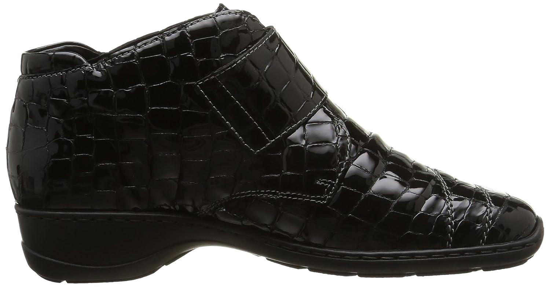 Rieker (Noir) 58363-00, Damen Hohe Sneakers Schwarz (Noir) Rieker a33da0