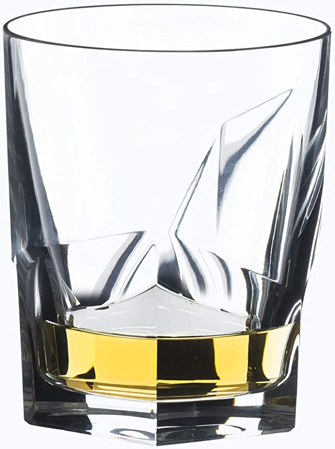 whisky decanter y 2 whisky vasos Riedel whiskyset Fire 3-piezas