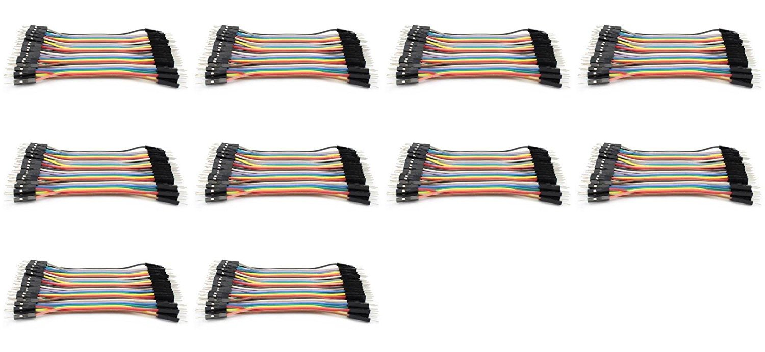 10 x Quantity of Walkera QR X800 Dupont 40 Qty 10cm 2.54mm 1pin Male to Male Jumper Wire Dupont Cables - FAST FROM Orlando, Florida USA!