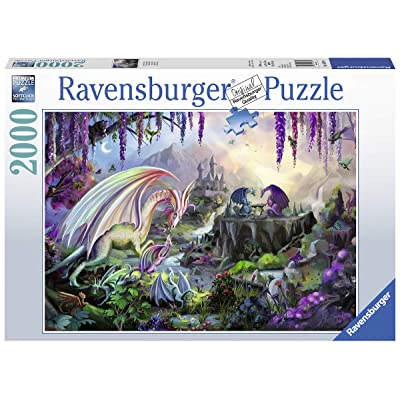 Ravensburger 16707 Dragon Valley - 2000 Piece Puzzle for Adults, Every Piece is Unique, Softclick Technology Means Pieces Fit Together Perfectly: Toys & Games