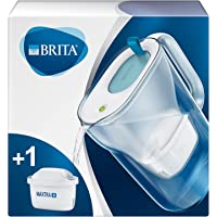 BRITA waterfilterkan Style verbetert de smaak en vermindert kalk en andere onzuiverheden uit kraanwater, blauw, 2,4L