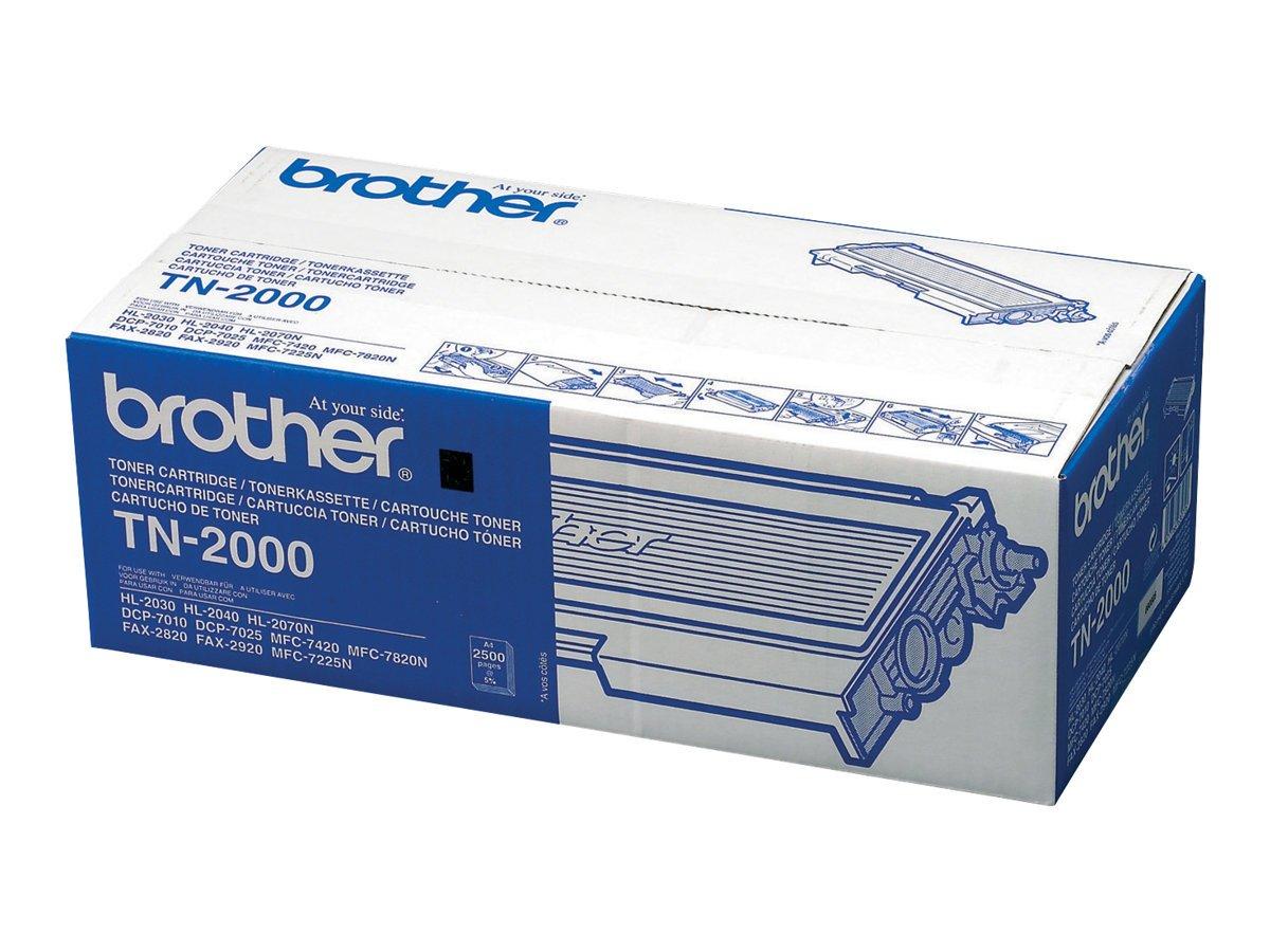 Brother TN2000 Cartucho de tner color negro Tners y tinta de ...
