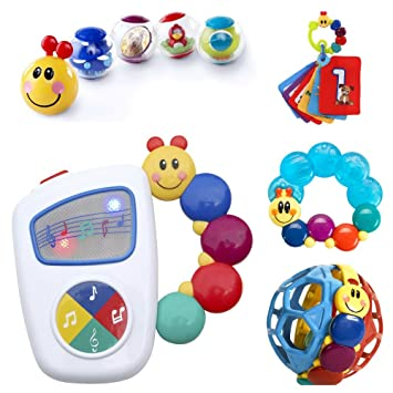 6466fbd8e Amazon.com  Baby Einstein 9-Piece Essentials Bundle - Take Along ...