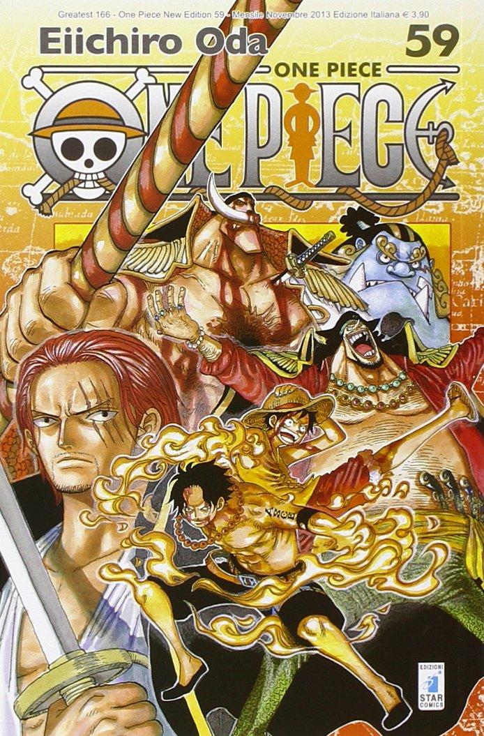One piece. New edition: 59 Copertina flessibile – 14 nov 2013 Eiichiro Oda G. G. De Gregorio E. Serino Star Comics