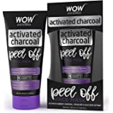 WOW Activated Charcoal Face Mask - Peel Off - No Parabens & Mineral Oils