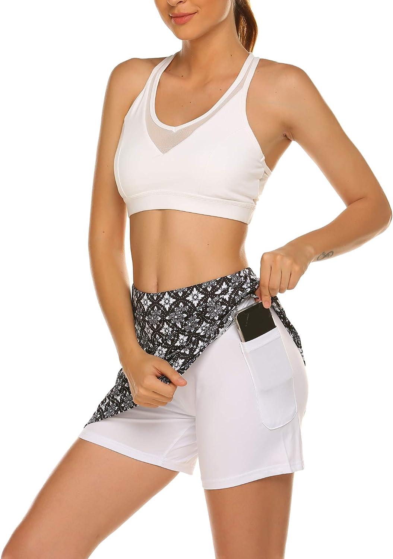 Pantaloni da corsa da donna stretti yoga per hockey rock MAXMODA per palestra