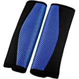 XtremeAuto® BLUE Car Seat Belt Comfort Pads/Covers/Cushions For All Cars