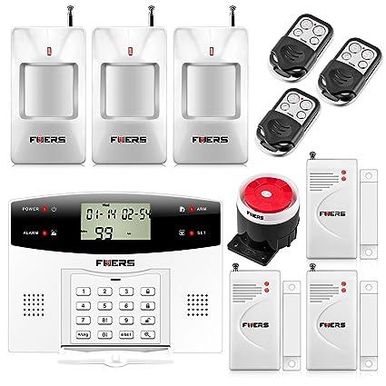 Fuers - G2 Kit de alarma de hogar telefónica inalámbrica ...