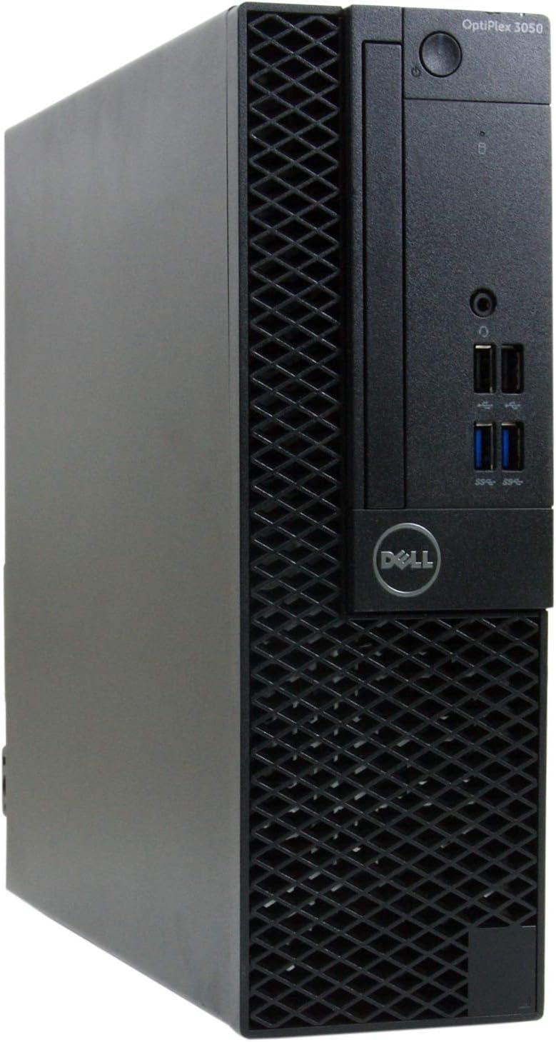 Dell Optiplex 3050-SFF, Core i7-6700 3.4GHz, 16GB RAM, 480GB Solid State Drive, Windows 10 Pro 64bit, (RENEWED)