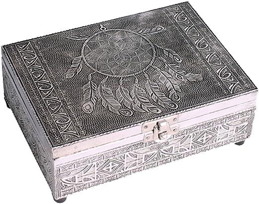 Caja de tarot de madera tallada a mano: Amazon.es: Juguetes y juegos