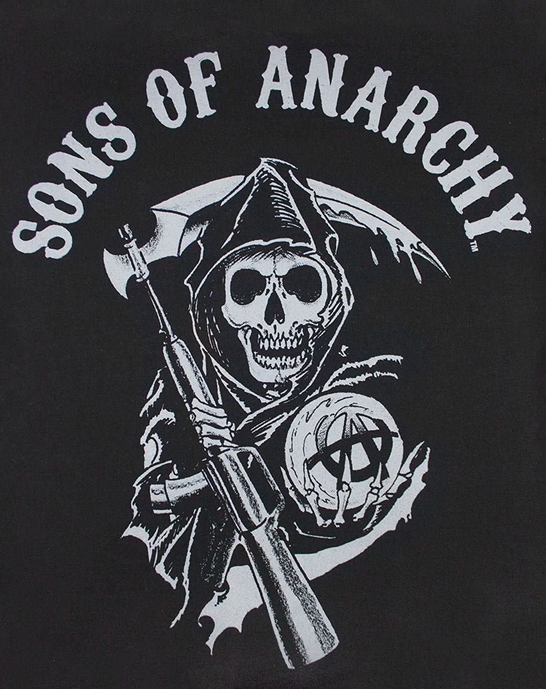 Amazon Sons Of Anarchy Samcro Mens Zip Up Hoodie Clothing