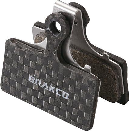 Cicli Bonin Unisexs Brakco Bpx Carbon Shimano XTR 2011 Disc Brake Pads Black One Size