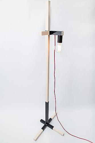 Lámpara de madera, lámpara edison, lámpara handmade, lámpara ...