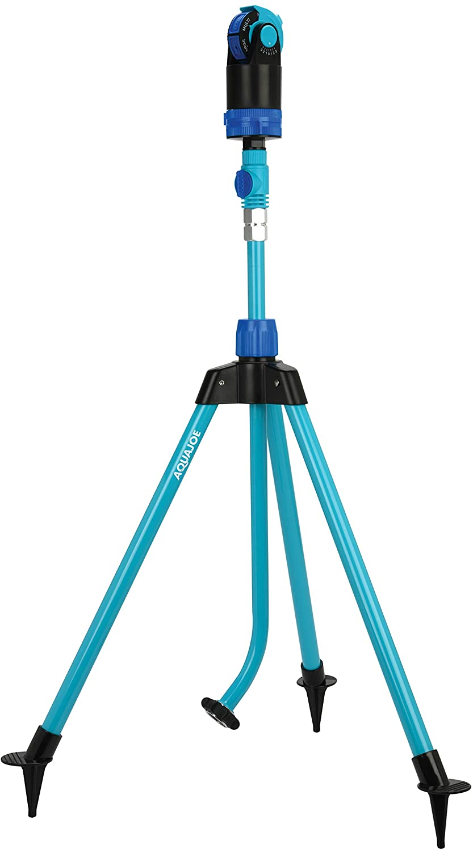 Aqua Joe AJ-6PSTB Indestructible Series 6 Pattern HD Sprinkler/Mister Combo, 45 Inch, 360 Degree Coverage
