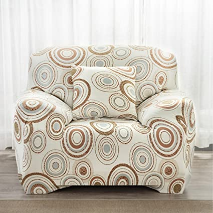 LVYING Home Decoration Stretch Chair Slipover Flower Print Sofa Couch Cover  Furniture Protector(3 Seats