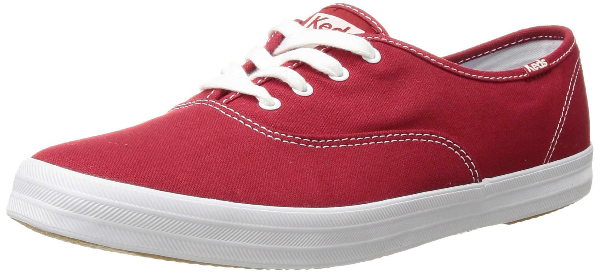 Keds Champion - Red Low-Profile Canvas Sneaker - Size: 10