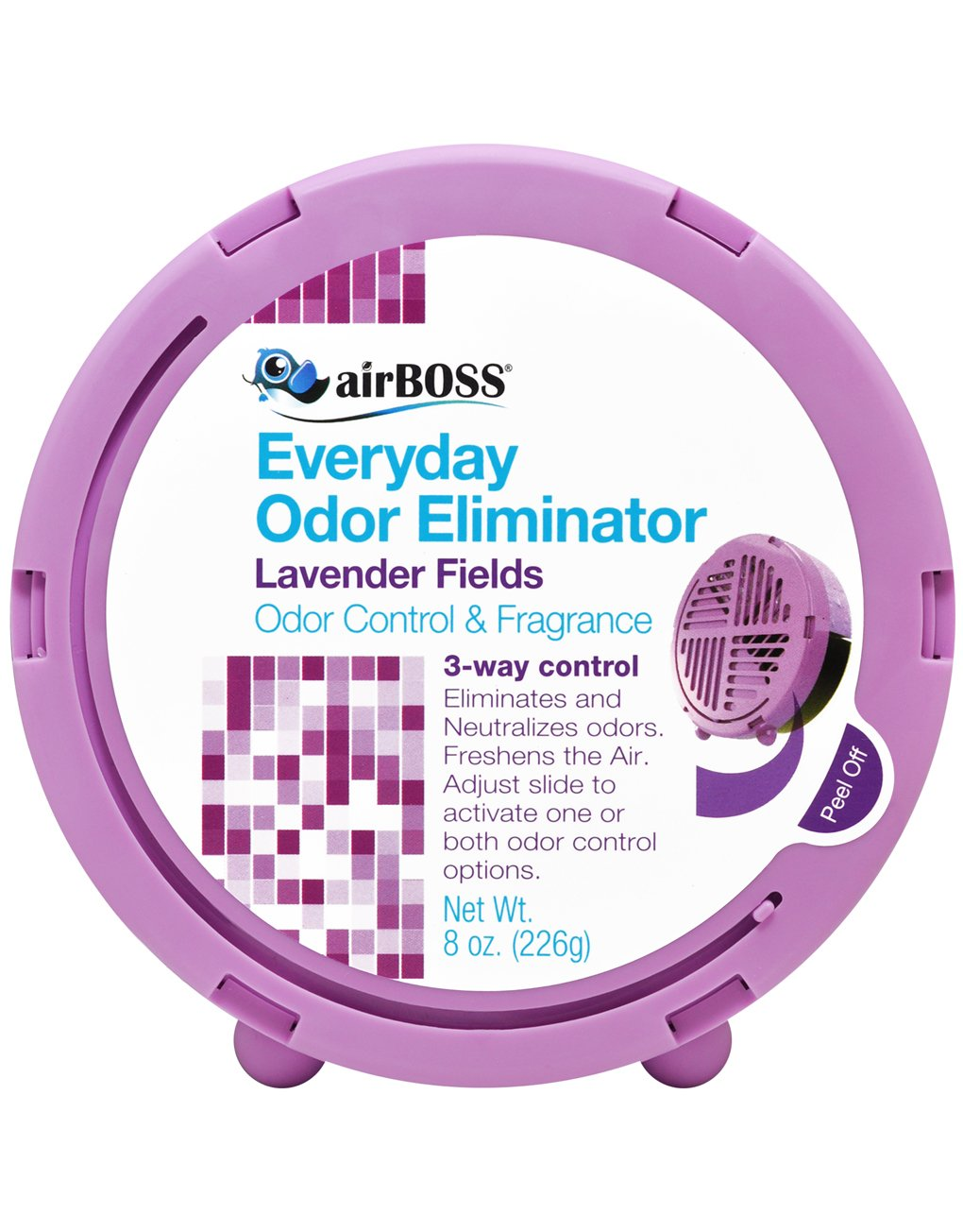airBOSS Everyday Odor Eliminator - Lavender Fields by airBOSS