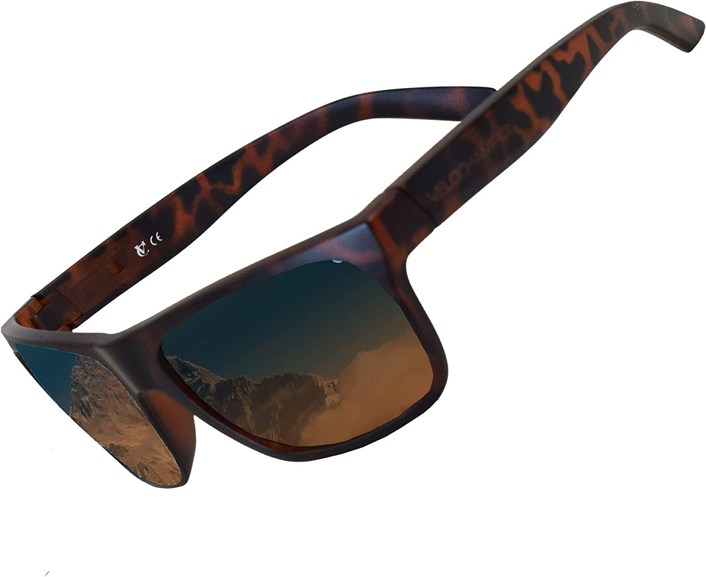 Amazon Com Velochampion Milan Casual Sunglasses Matt Brown Tortoiseshell Brown Lens Clothing