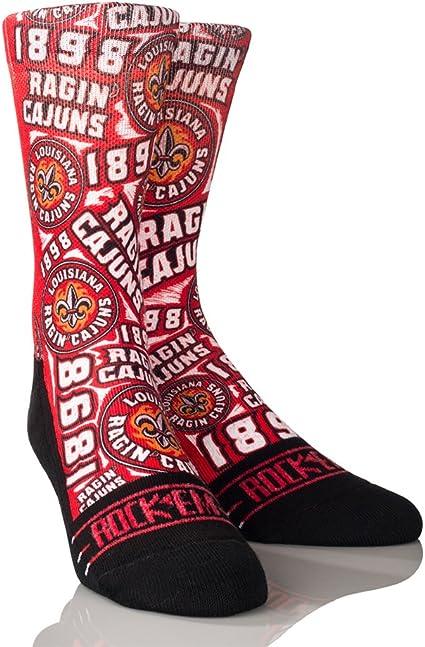 NCAA South Alabama Jaguars Custom Athletic Crew Socks