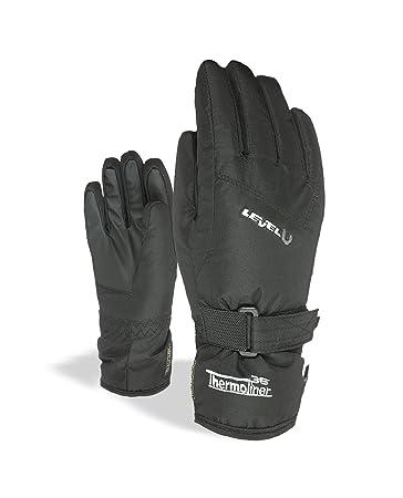 Level Junior Snow Glove - Kid's Black III