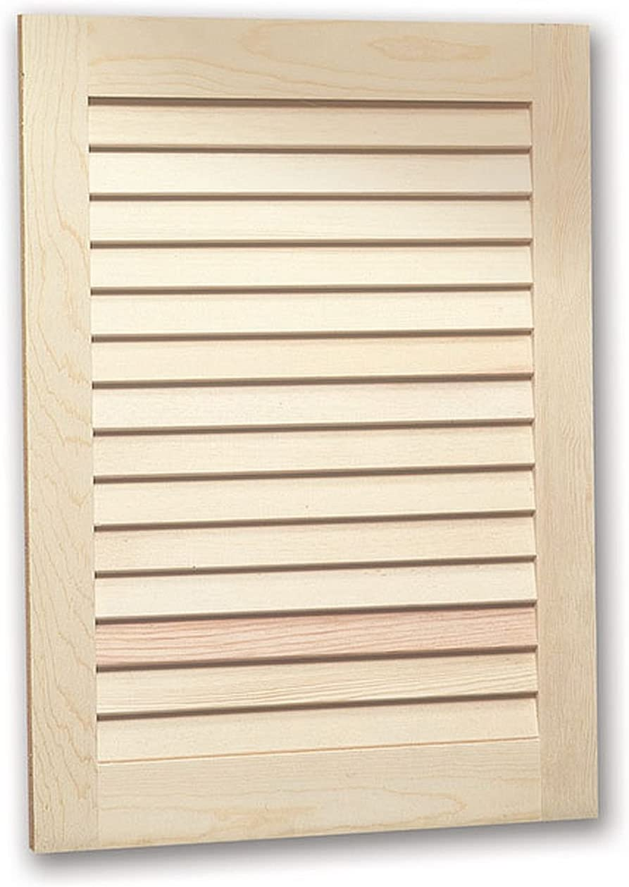 """Jensen 607ADJX Louver Door Medicine Cabinet, 16"""" x 22"""""""
