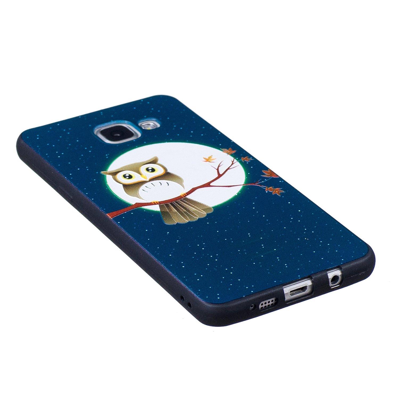 HUDDU Compatible for Schutzh/ülle Samsung Galaxy A3 2016 A310 Silikon H/ülle Panda Muster Motiv Handyh/ülle 3D Karikatur Case Weich Soft Flexibel TPU Ultra D/ünn Back Cover Crystal Sto/ßfest Scratchproof
