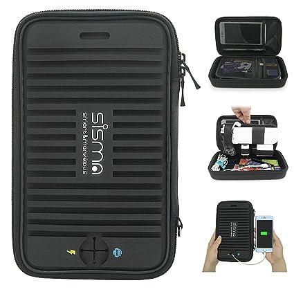 Amazoncom Sisma Travel Electronics Organizer Cables Power Bank