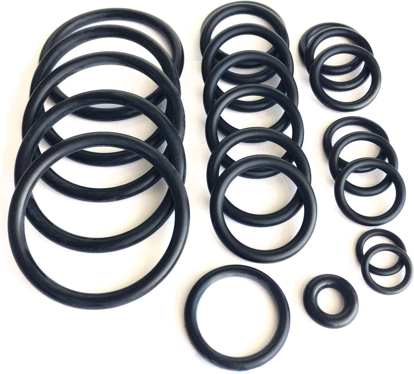 Cooling system radiator hose O ring set For BMW e46 N42 N46 316i 318i (4 Cylinders)